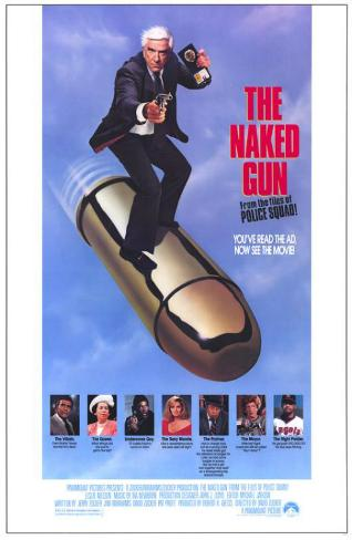 Naked Gun: From the Files of Police Squad Masterprint
