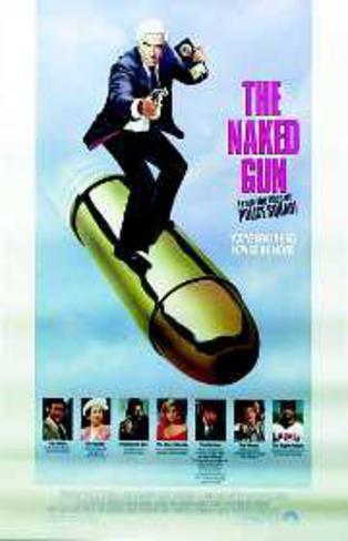 Naked Gun (Leslie Nielsen, Priscilla Presley) Movie Poster Poster originale