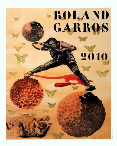 Roland Garros, 2010 Collectable Print