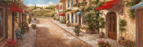 Italian Village II Art Print