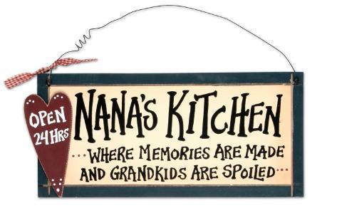 Nana S Kitchen Wood Sign