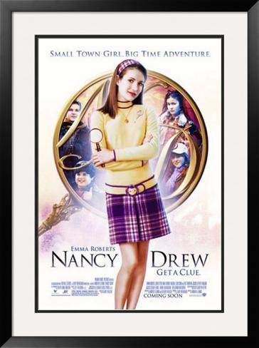 Nancy Drew Impressão artística emoldurada