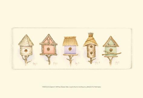 Life of a Songbird II Art Print