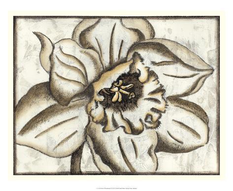 Fresco Flowerhead V Giclee Print