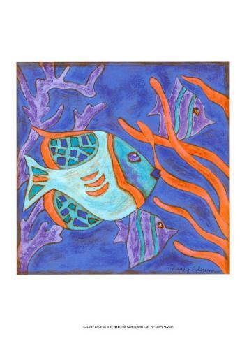 Pop Fish II Art Print