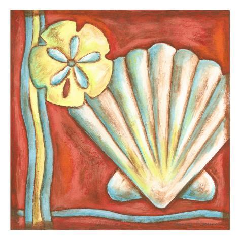 Pop Shells I Art Print