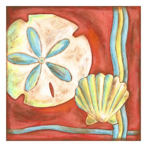Pop Shells IV Art Print