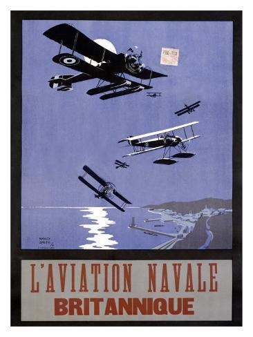 L'Aviation Navale, Britannique Giclee Print