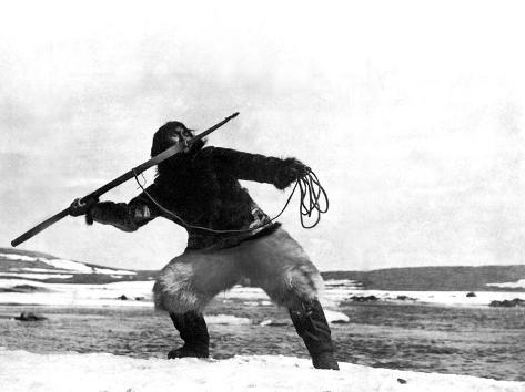 Nanook Of The North, Nanook, 1922 Fotografía