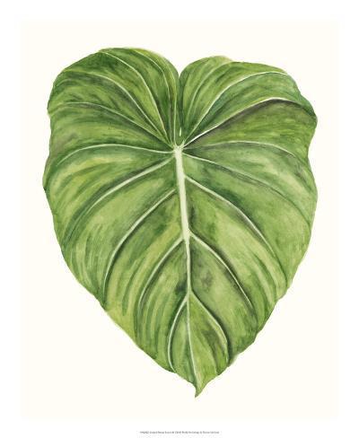 Tropical Breeze Leaves II Giclee Print