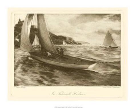 Falmouth Harbor Giclee Print