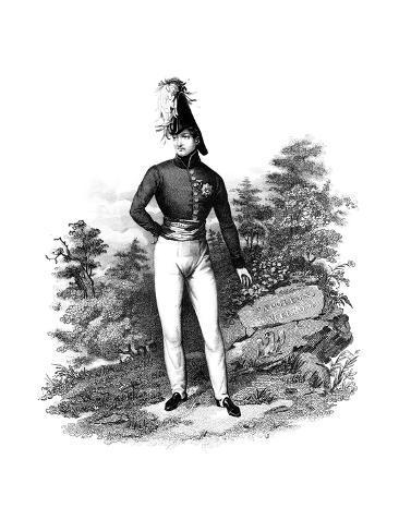 Napoleon Bonaparte, French General and Emperor Giclee Print