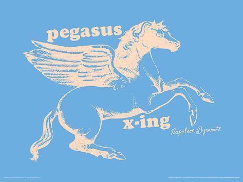 Napoleon Dynamite - Pegasus X-ing Masterprint