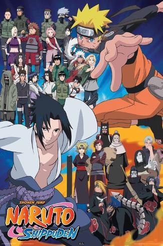 Naruto Cast Poster