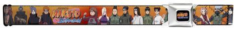Naruto - Group Orange Seatbelt Belt Novelty