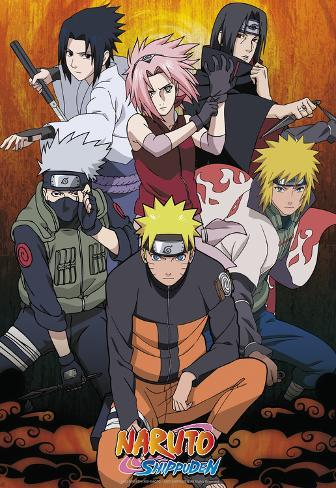 Naruto shippuden posters allposters naruto shippuden reheart Gallery