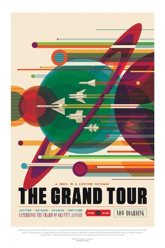 NASA/JPL: Visions Of The Future - Grand Tour Póster