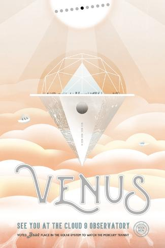 NASA/JPL: Visions Of The Future - Venus Pôster