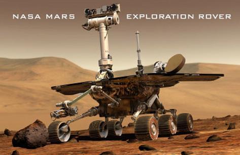 NASA Mars Exploration Rover Sprit Opportunity Photo Poster Print Masterprint