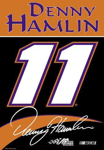 Nascar Denny Hamlin #11 2-Sided House Banner Flag