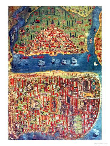 View of Istanbul Giclee Print