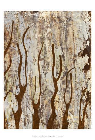 Butterfly Tree II Art Print