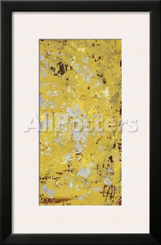 Silvery Yellow Ii Prints Natalie Avondet Allposters Com