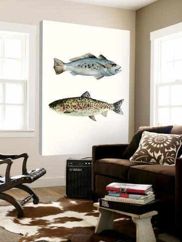 Fish Grouping 1 Loft Art