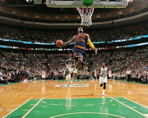 Cleveland Cavaliers v Boston Celtics - Game Three Photo