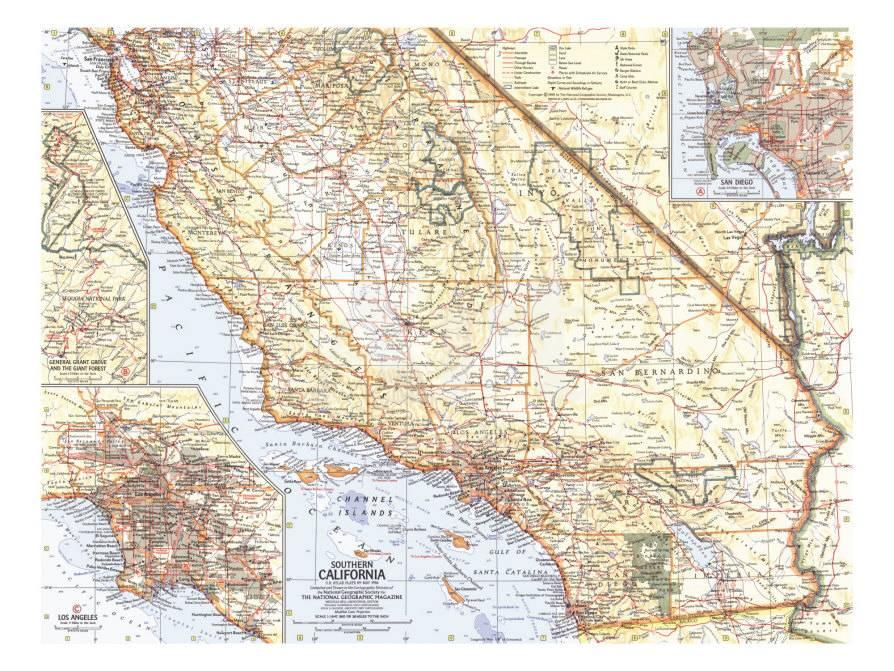 1966 Southern California Map on michigan map, georgia map, california biomes, california history, california water, california absolute location, california mountains, delaware map, california cities, alabama map, alaska map, california beach, california nickname, california geography, wyoming map, illinois map, california trees, california county, california outline, california sketch, california region, kansas map, indiana map, hawaii map, california people, california counties, california delta, north carolina map, connecticut map, california highways, arkansas map, new york map, california climate,