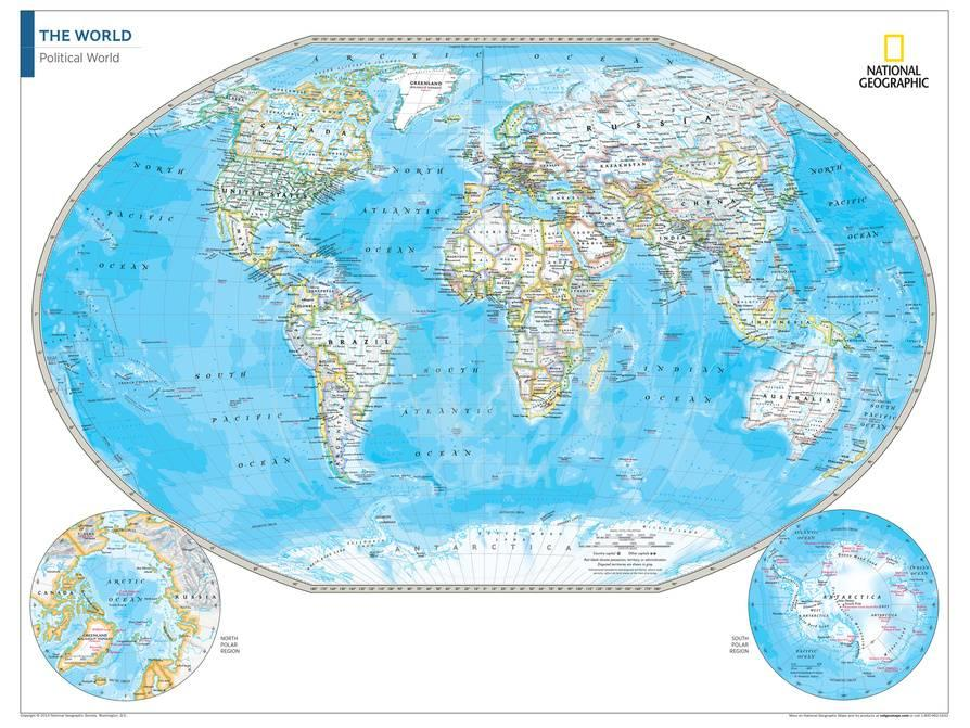 2014 political world map national geographic atlas of the world 2014 political world map national geographic atlas of the world 10th edition psters por national geographic maps en allposters gumiabroncs Gallery
