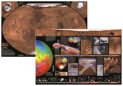 National Geographic Mars, The Red Planet (Double-Sided) Double-sided poster