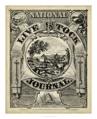 National Livestock Journal Giclee Print