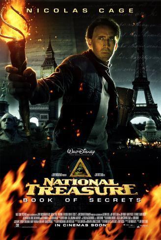 National Treasure- Book of Secrets Dubbelsidig poster