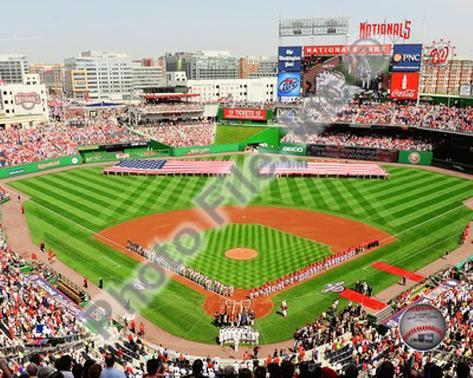 Nationals Park 2010 Opening Day Photo