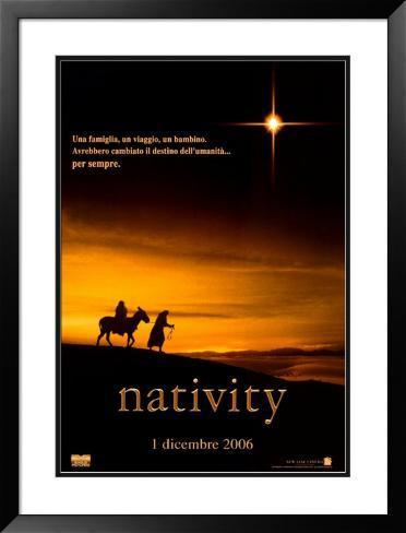 Natividade Pôster emoldurado