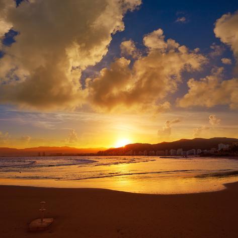 オールポスターズの naturewolrd cullera playa los olivos beach