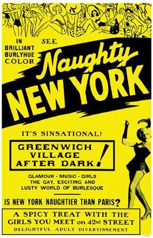 Naughty New York Masterprint