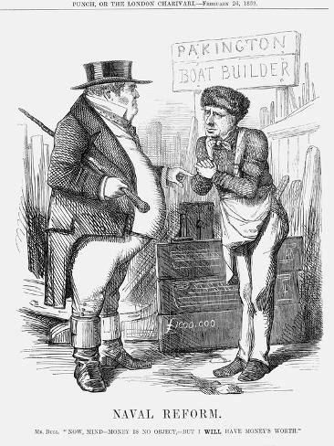 Naval Reform, 1859 Giclee Print