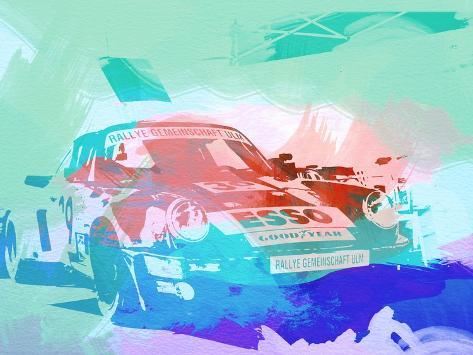 911 Before The Race Art Print