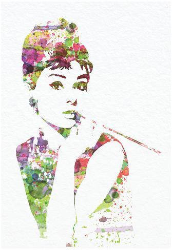Audrey Hepburn 2 Pôster