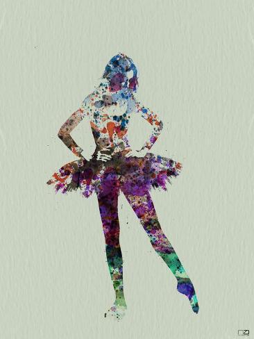 Ballerina Watercolor Art Print
