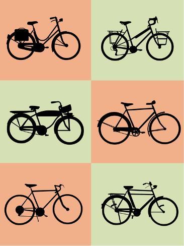 Bicycle Poster Art Print