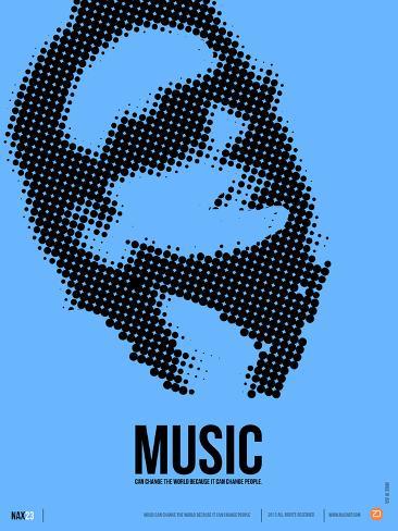 Bono Poster Plastic Sign