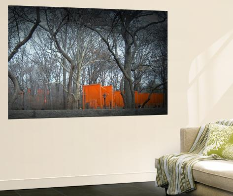 Central park wall mural by naxart for Central park wall mural