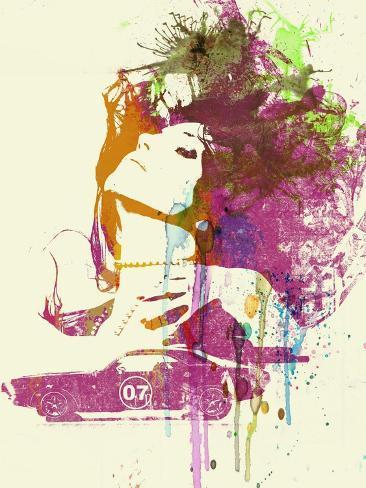 Challenger Girl Art Print