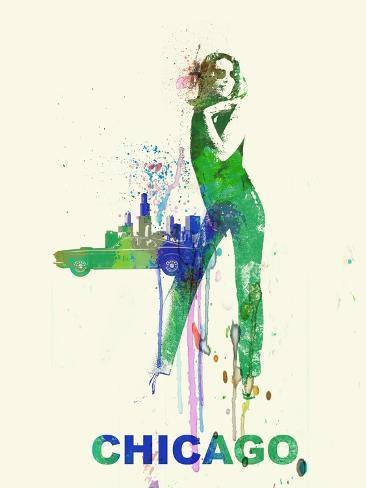 Chicago Romance Art Print