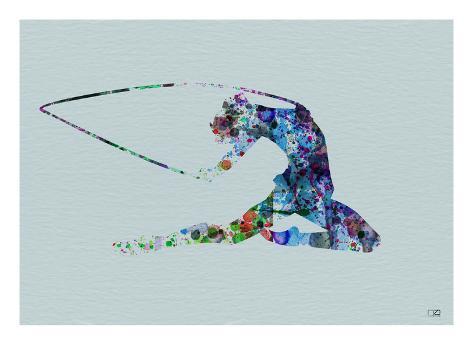 Dancer Watercolor 4 Art Print