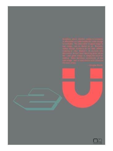 Douglas Martin Poster Art Print