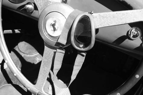 Ferrari Steering Wheel 1 Photo